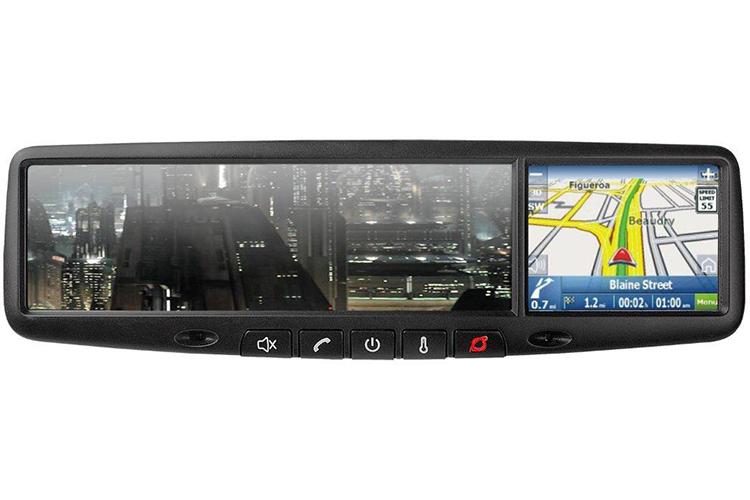 GPS Navigation Rear-View Mirrors
