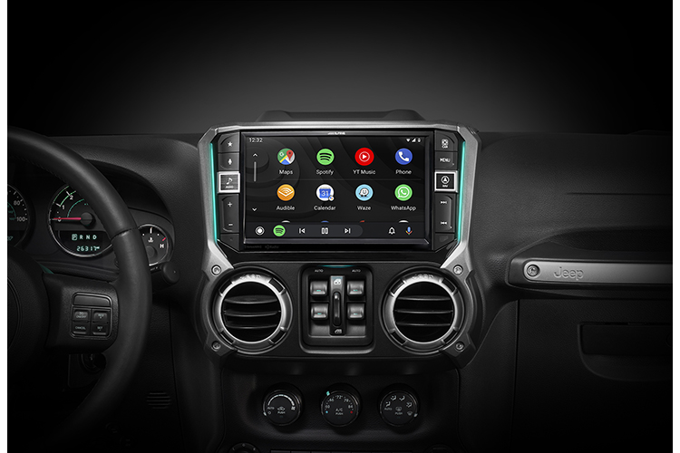 Vehicle-Specific Android Auto Receivers