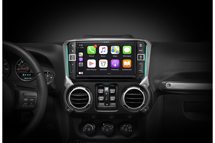 Vehicle-Specific Apple CarPlay Receivers