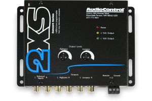 AudioControl 2XS Espresso Black