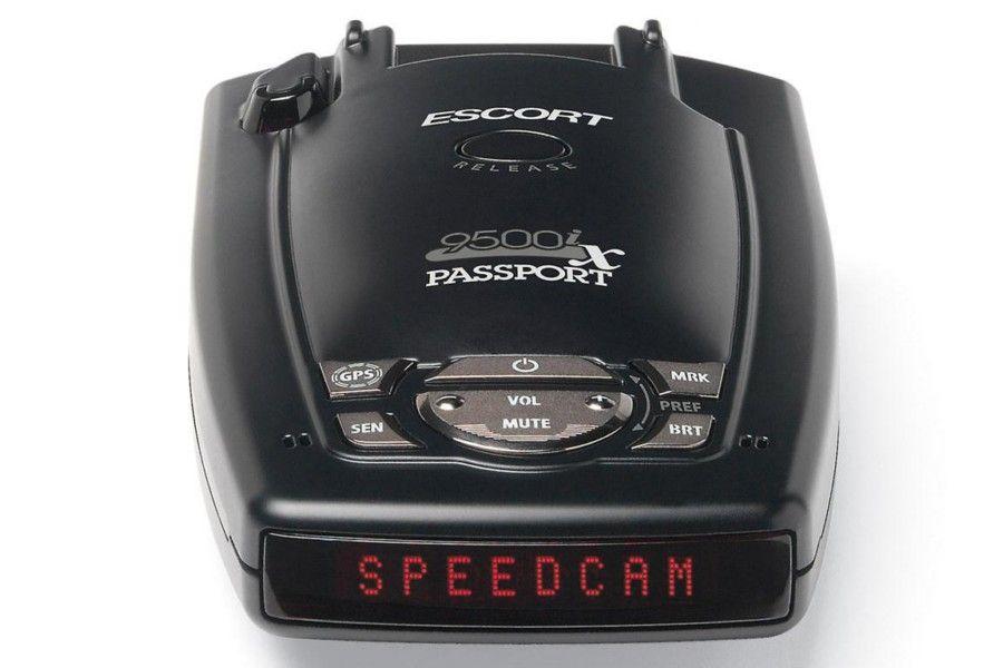 Escort 9500ix Red Display